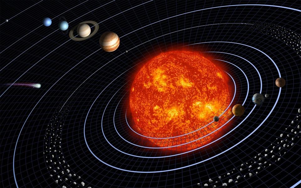 Dot2010SolarSystem - Forschung entdeckte die Jahreszeiten des Saturns